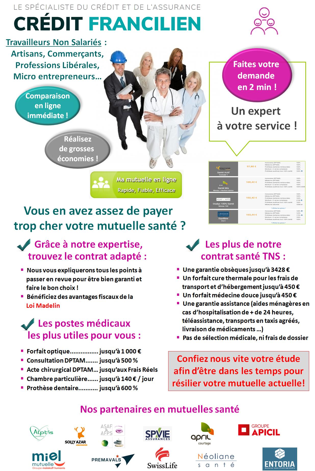Comparateur mutuelle santé TNS